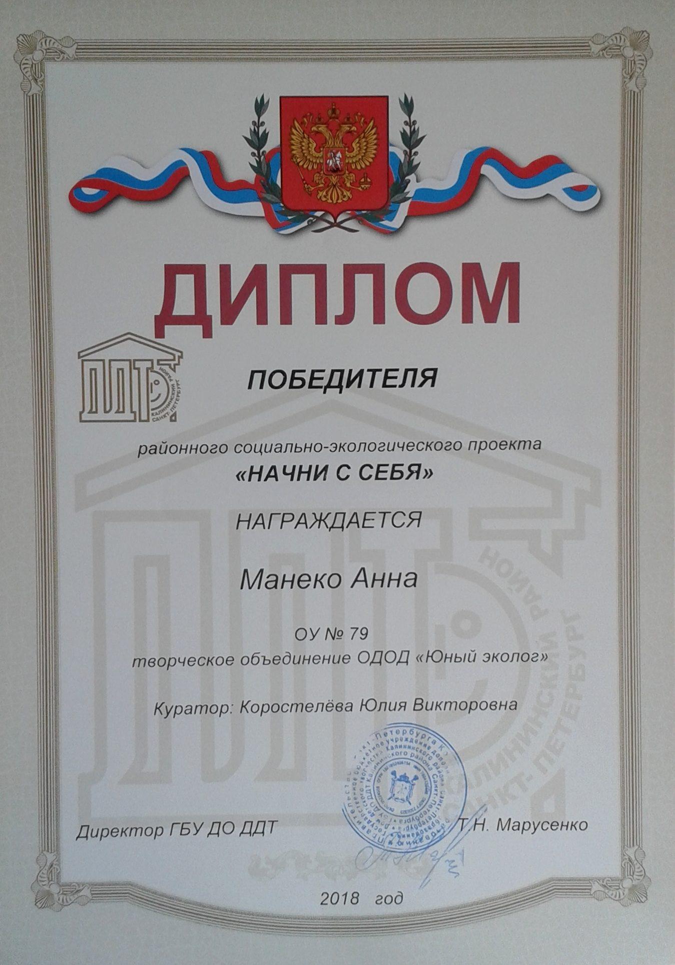 Манеко Анна